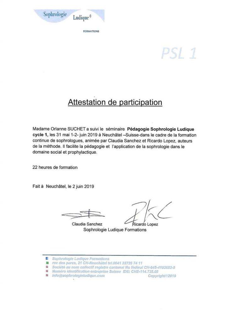 Certification Sophrologie Ludique